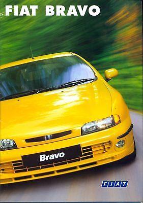 Fiat Bravo SX HLX HGT 1998 UK market sales brochure