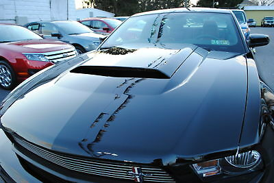 new ford 2010 2011 2012 mustang v6 gt hood scoop pony pack. Black Bedroom Furniture Sets. Home Design Ideas