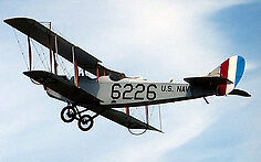 Giant 1/5 Scale Curtiss JN-4 Jenny Plans and Templates