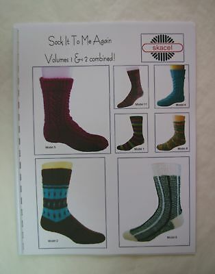 Sock It To Me Again Book 13 Patterns Skacel