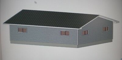 24 39 X 32 39 Garage Shop Plans Materials List Blueprints Plan