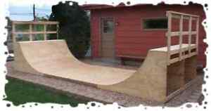 BUILD YOUR OWN SKATEBOARD RAMP IN A WEEKEND - DIY PLANS