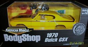 1970 Buick GSX Saturn Yellow KIT 1 18 Ertl American Muscle 36520