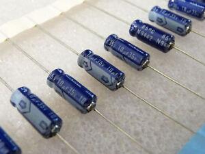 10-condensateurs-10uF-35V-Nichicon-VX-axial