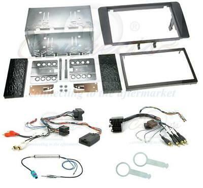 AUDI A3 Mk2 8P 03+ Complete Double Din Car Stereo Fitting Kit