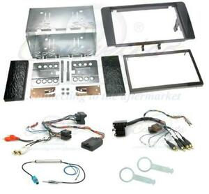 Audi a3 mk2 8p 03 complete double din car stereo fitting kit for Mueble 2 din audi a3 8p