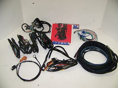1965 Mustang Complete Correct Original Style Wiring Kit