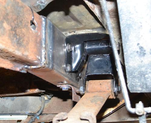 ford ranger long bed rusted rear frame ends set ebay