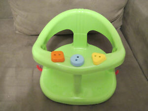 New Baby Bath Ring Seat For Tub Blue Green Keter Ebay