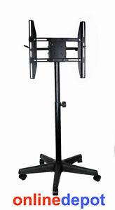 Plasma-LCD-LED-Trolley-Mobile-TV-Stand-14-034-32-034-25kg-Tilt-Swivel
