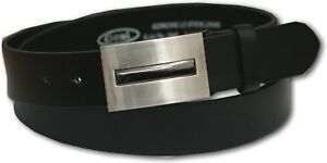 NEW-OSSI-BLACK-MENS-LEATHER-LINED-BELT-STYLE-5064-32-48