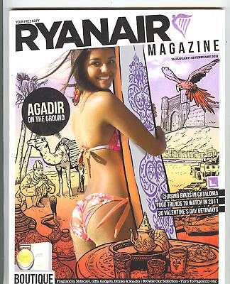 Ryanair Airline Inflight Magazine January February 2011