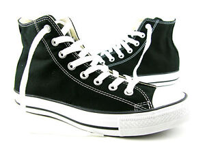 CONVERSE-SNEAKERS-ALL-STAR-CHUCK-TAYLOR-BLACK-HI-SHOE-M9160-CANVAS-WOMEN