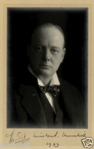 WINSTON-CHURCHILL-Signed-Photograph-Politician-former-British-Prime-Minister