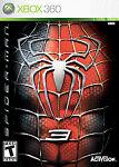 Xbox X-box 360 Game Spiderman 3 Sealed