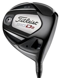 Titleist-910D2-Driver-Golf-Club-12-loft-Mitsubishi-Bassara-A-Flex-New