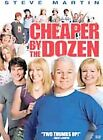 Cheaper by the Dozen (2003)/Cheaper by the Dozen (1950) (DVD, 2004, Side-by-Side Packaging)