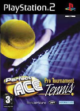 Sony PlayStation 2 Tennis Video Games with Manual