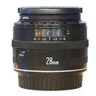 Canon EF MF Camera Lenses 28mm Focal