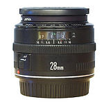 Auto Canon EF Wide Angle Camera Lenses