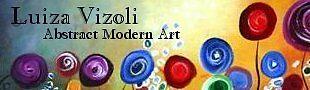 Abstract Modern Art by LUIZA VIZOLI