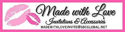 Made with Love Invitations