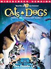 Cats-Dogs-Widescreen-Version-WS-DVD-NEW-Sealed