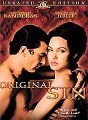 Original-Sin-DVD-2002-Unrated-Version-BRAND-NEW