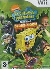 SpongeBob SquarePants Featuring Nicktoons: Globs of Doom (Nintendo Wii, 2008)
