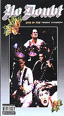 No Doubt - Live In The Tragic Kingdom [Flip Top Case](VHS, 1997) NEW