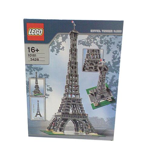 Lego Large Scale Models Buildings Eiffel Tower Ebay