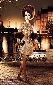 NRFB-2008-Barbie-Je-Ne-Sais-Quoi-Fashion-Model-Silkstone-Gold-Label-doll