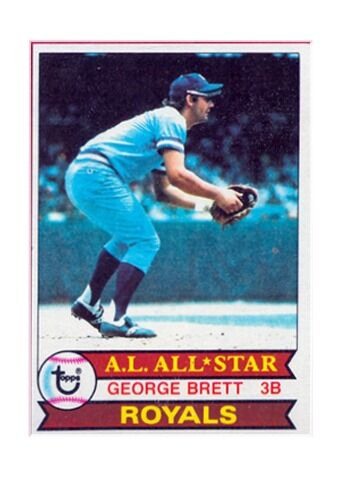 1979 Topps George Brett Kansas City Royals #330 Baseball Card
