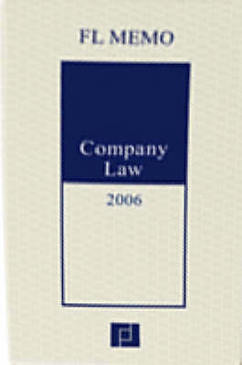 (Good)-Company Law Memo 2006 (Paperback)-FL Memo Editors-0954845234