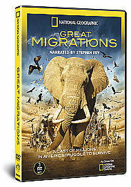 National Geographic - Great Migrations [DVD] DVD, Excellent, , Stephen Fry