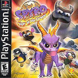 Spyro: Year of the Dragon (Sony PlayStation 1, 2000)