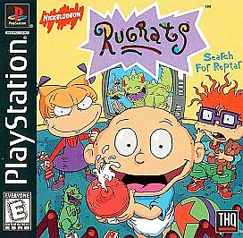 Buy Rugrats Search For Reptar Sony Playstation 1 1998 Online Ebay