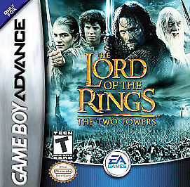 Lord Of The Rings The Two Towers Nintendo Game Boy Advance 2002