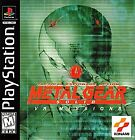 Metal Gear Solid: VR Missions Sony PlayStation 1 Video Games