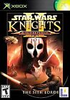 Star Wars: Knights of the Old Republic II -- The Sith Lords (Microsoft Xbox, 2004)