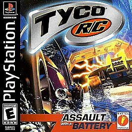 Tyco-R-C-Assault-With-A-Battery-PS1-Great-Condition
