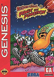 ToeJam-amp-Earl-in-Panic-on-Funkotron-Sega-Genesis-Sega-Genesis-Video-Games