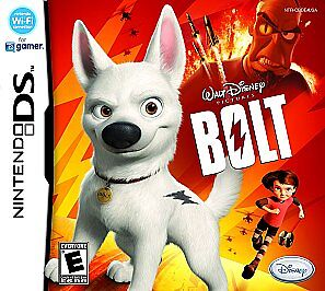 Bolt Nintendo DS, 2008 game Only  - $3.60
