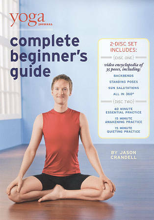 yoga journal's complete beginners guide with pose