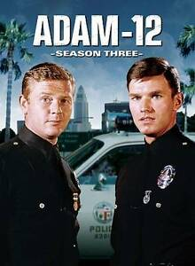 Adam-12-3rd-Third-Season-3-Three-NEW-4-Disc-DVD-SET