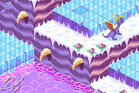 Spyro the Dragon Attack of the Rhynocs Nintendo Game Boy Advance, 2003