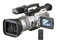 Caméscopes argentés stabilisateur d'image