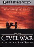The Civil War: A Film Directed By Ken Burns (DVD, 2004, 5-Disc Set) *BRAND NEW*
