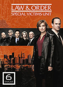 LAW & ORDER SPECIAL VICTIMS UNIT YEAR SIX DVD SET - BRAND NEW & FACTORY SEALED