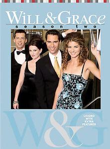 Will-Grace-Season-2-DVD-2004-4-Disc-Set